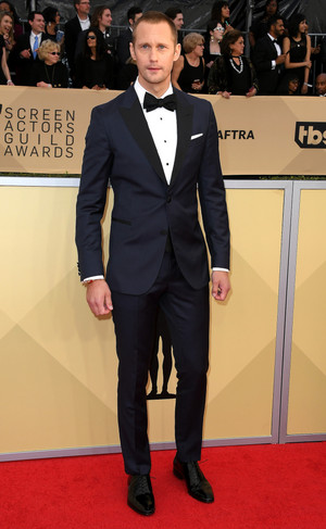 Alexander Skarsgård at SAG Awards 2018