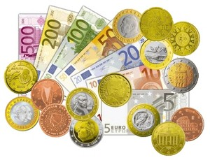All The Euros (EUR/€) In 2018