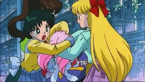 Ami Chibiusa and Minako