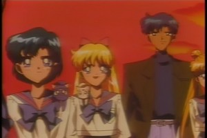 Ami Minako and Mamoru