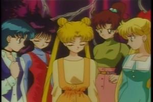 Ami Rei Usagi Makoto and Minako
