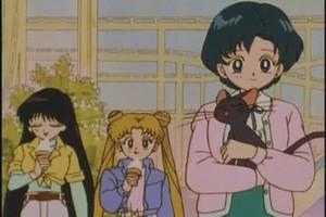 Ami Rei and Usagi