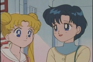 Ami and Usagi