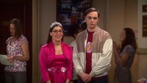 Amy and Sheldon