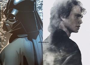 Anakin / Vader Collage
