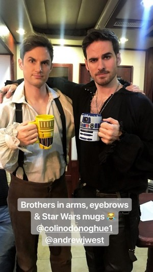 Andrew and Colin
