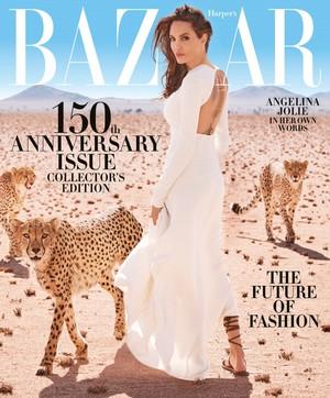 Angelina Jolie covers Harper's Bazaar [November 2017]