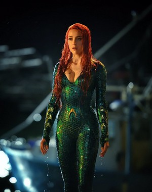 Aquaman - Amber Heard as Mera