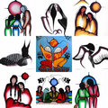 Art by Simone McLeod ~An Ojibwe artist and medicine painter
