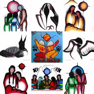 Art da Simone McLeod ~An Ojibwe artist and medicine painter