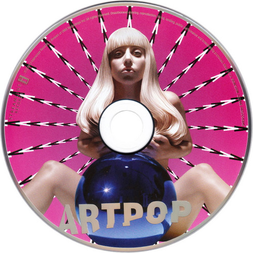 Lady Gaga wallpaper called Artpop CD