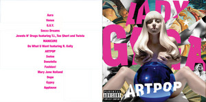 Artpop: Front Cover