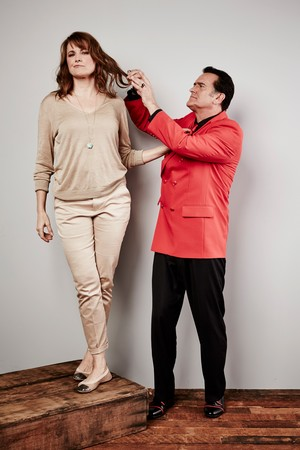 Ash Vs Evil Dead Season 1 Bruce Campbell and Lucy Lawless Portrait