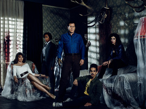 Ash Vs Evil Dead Season 1 Cast Portrait