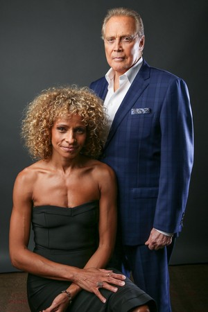 Ash Vs Evil Dead Season 2 Michelle Hurd and Lee Majors Portrait