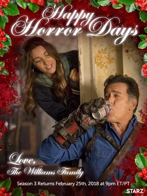 Ash Vs Evil Dead Season 3 Natale Greetings