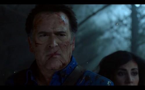 """Ash vs Evil Dead achtergrond entitled Ash Vs Evil Dead """"Second Coming"""" (2x10) promotional picture"""