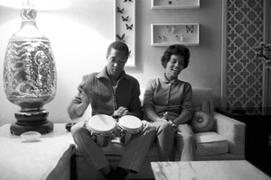 At Home With Sam Cooke And Second Wife, Barbara