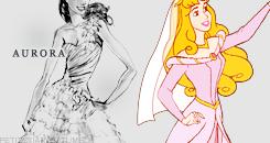 Aurora Wedding Dress design