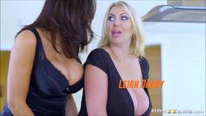 Ava x Leigh Lesbian Sex