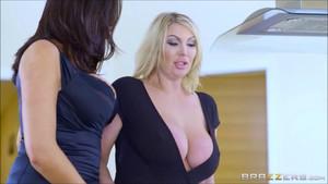 Ava x Leigh Lesbian Sex0355