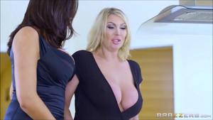 Ava x Leigh Lesbian Sex0356