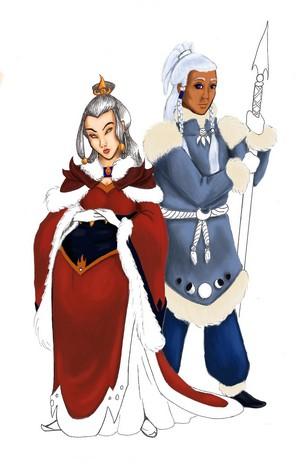Azula and Yue