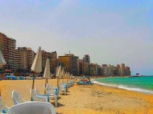 BEACHES ALEXANDRIA EGYPT
