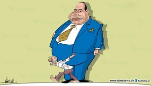 BIG FAT ELSISI POOR EGYPT PEOPLE