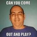 BILL SANTOS FLORIDA PEEWEE FAN - pee-wee-herman photo