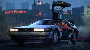 Back To The Future: The Game - Marty & DeLorean