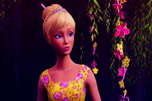 Barbie films achtergrond called Barbie and the Secret Door