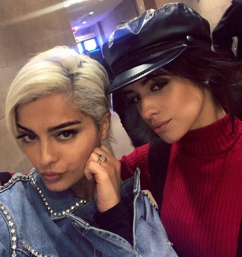 Bebe Rexha 壁紙 titled Bebe and Camila