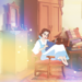 Belle in Tia's room - disney-princess icon