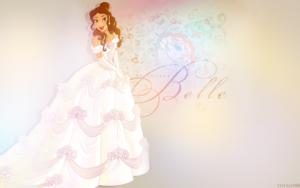 Belle's Wedding Dress