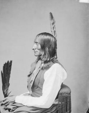 Black corbeau, corneille of the Sicangu Nation 1872