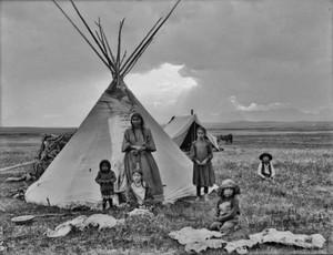 Blackfoot family (Montana)