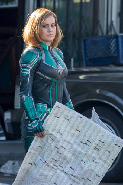 Brie Larson - Captain Marvel Bangtan Boys