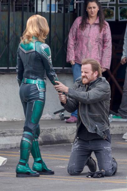 Brie Larson - Captain Marvel Bangtan Boys