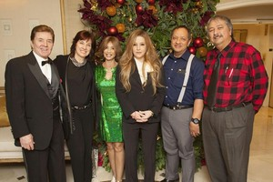 Brigitte & Bobby Sherman Children's Foundation, krisimasi brunch
