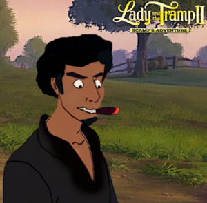 Buster (Lady and the Tramp II) as a Human