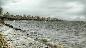 COLD WINTER ALEXANDRIA EGYPT