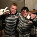 Cameron Monaghan and Robin Lord Taylor Behind the Scenes