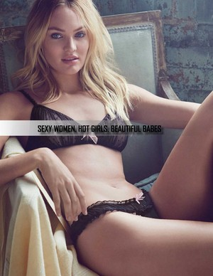 Candice Swanepoel in Sexy lingerie for Covergirl Magazine