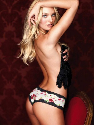Candice Swanepoel in Sexy ropa interior for Covergirl Magazine