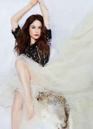 Caroline Dhavernas for Pure Magazine [April 2016]