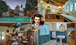 Cary Grant's Palm Springs home pagina