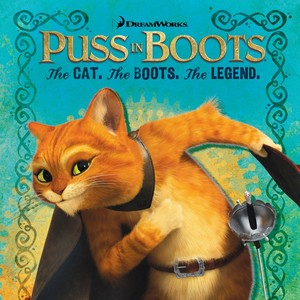 Cat Boots Legend Book and CD Deluxe Cover