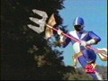 Chad Morphed As The Blue Lightspeed Rescue Ranger - power-rangers-fantastic photo