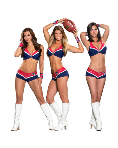 New England Patriots Hintergrund called Cheerleaders